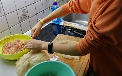 Praktično delo doma pri predmetu Gospodinjstvo